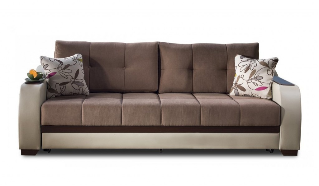 Ultra Optimum Brown Sofa Sleeper