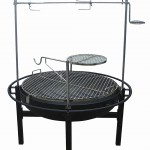Adjustable Charcoal Grill