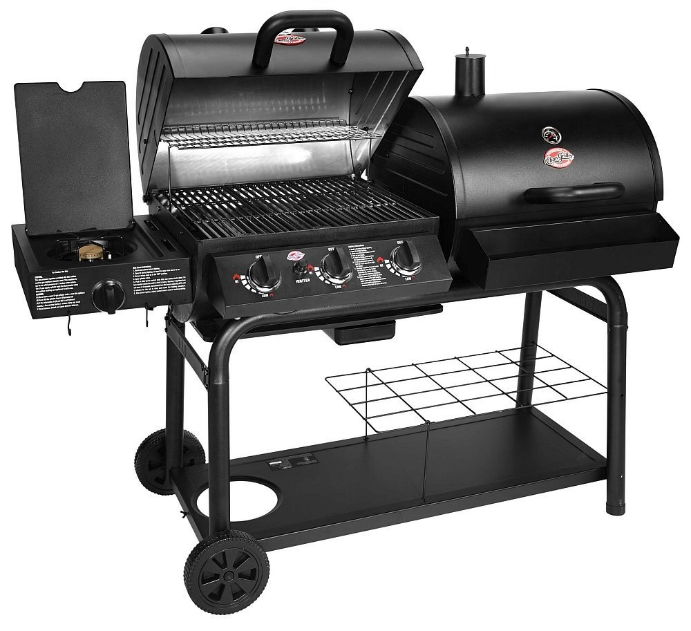 Char Griller 5050 Duo Gas And Charcoal Grill