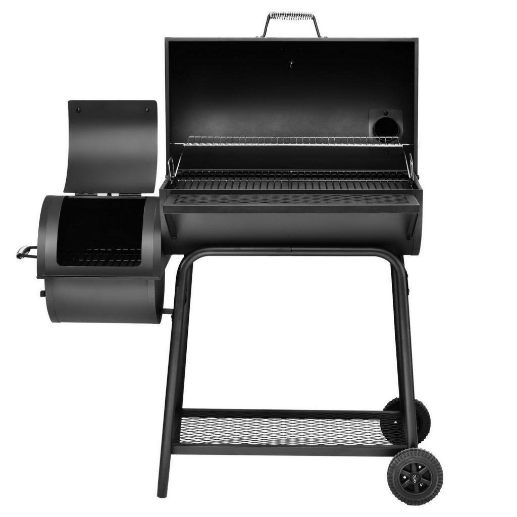 Charcoal Grill Smoker Combo