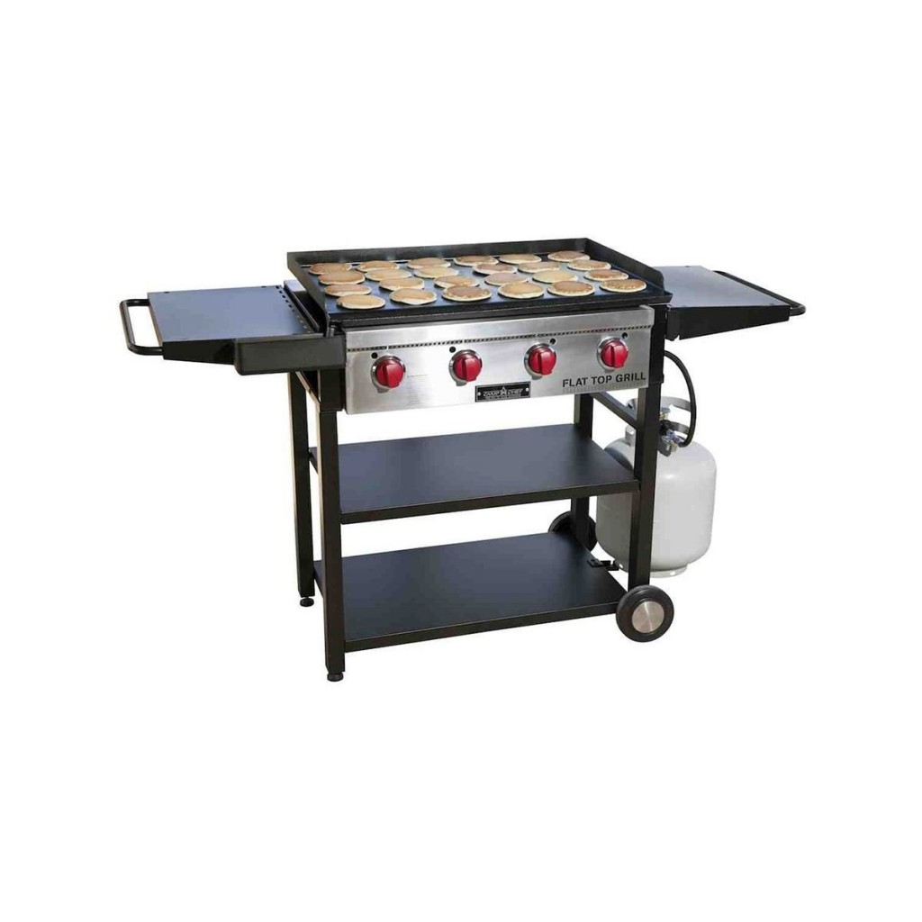 Flat Top Gas Grill