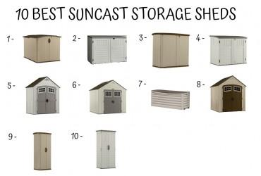 10 Best Suncast Storage Shed