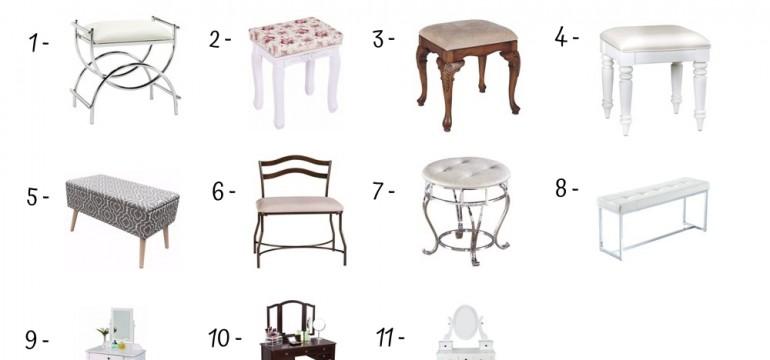 11 Best Vanity Benches