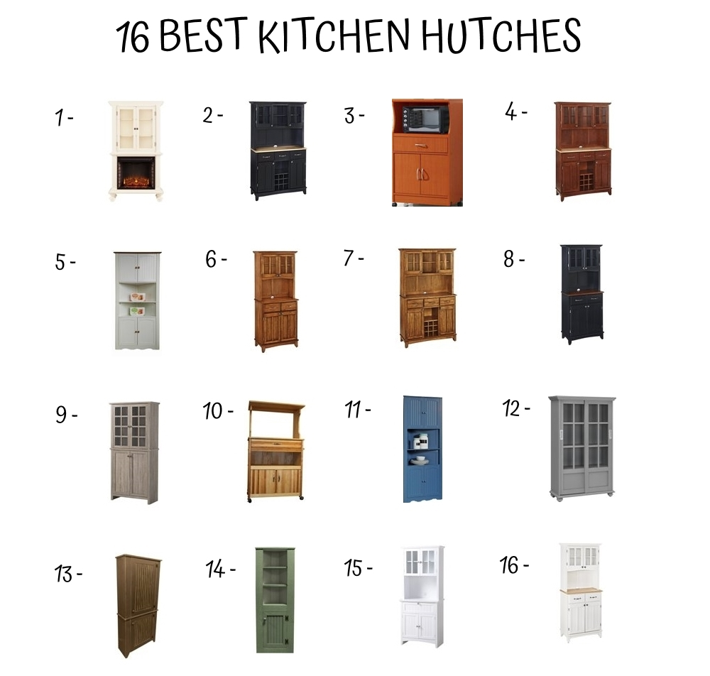 16 Best Kitchen Hutches
