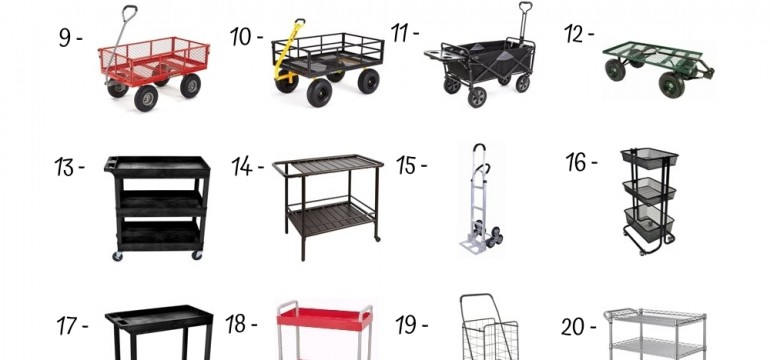 27 Best Utility Carts