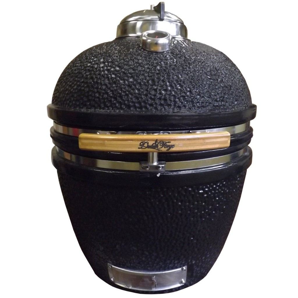 Duluth Forge Ceramic Charcoal Kamado Grill And Smoker