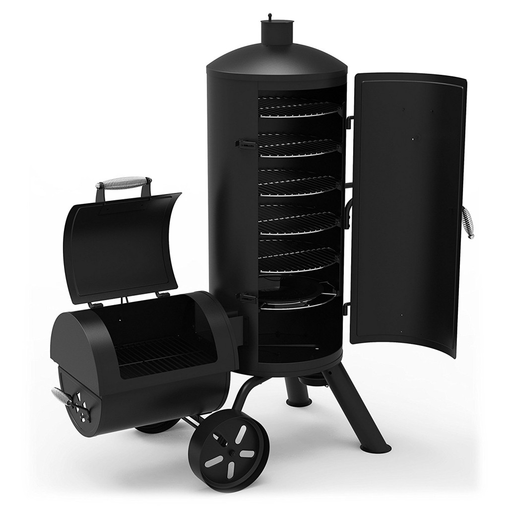 Dyna Glo Signature Series DGSS1382VCS D Heavy Duty Vertical Offset Charcoal Smoker & Grill