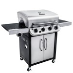 Char Broil 4 Burner Gas Grill With Side Burner