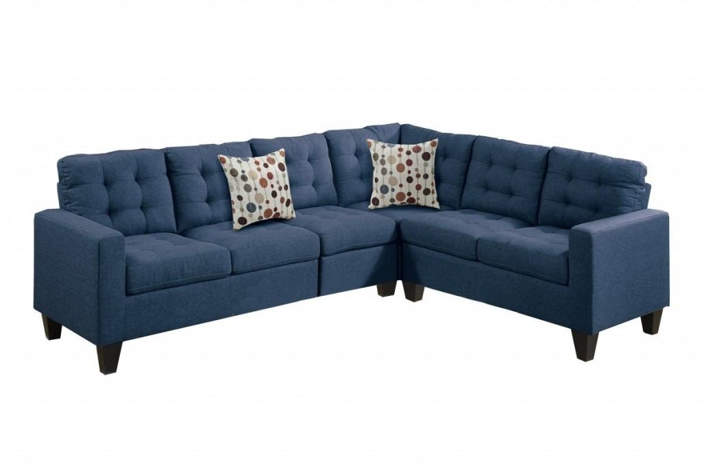 Navy Blue Living Room Set