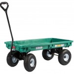 Plastic Garden Wagon