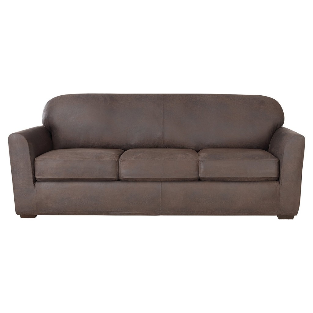 Saddle Leather Couch