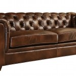 Tufted Leather Couch