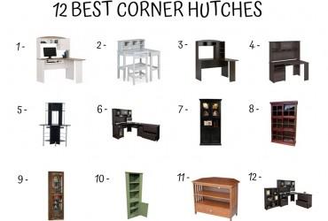 12 Best Corner Hutches