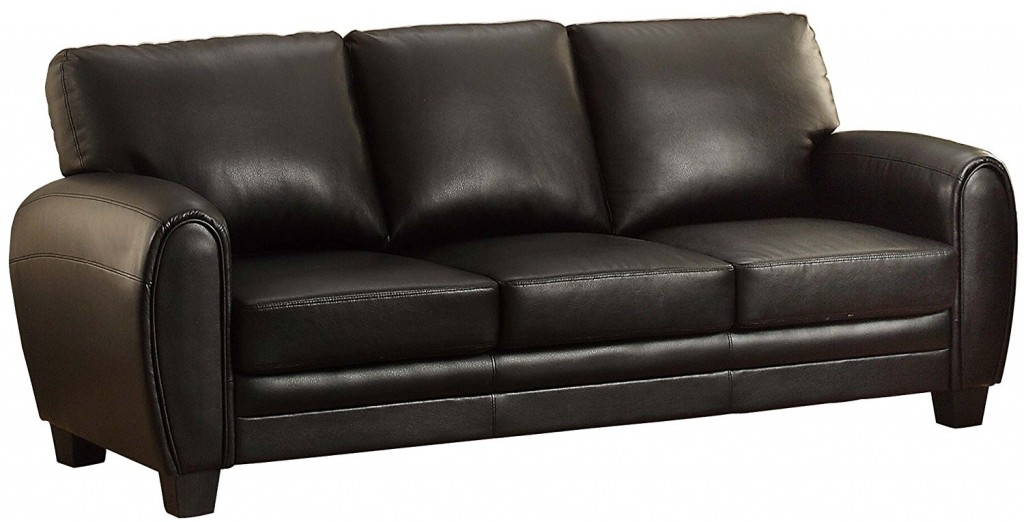 Leather L Couch