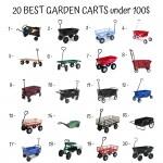 20 Best Garden Carts Under 100$