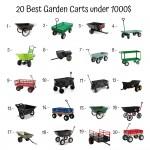 20 Best Garden Carts Under 1000$