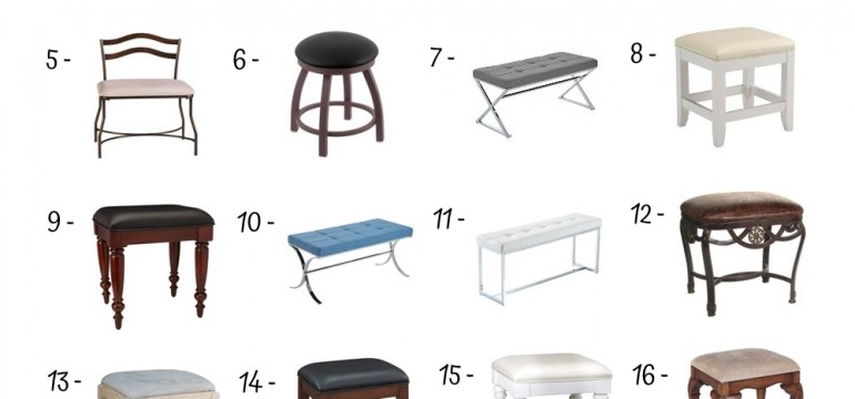 20 Best Vanity Benches Under 100$