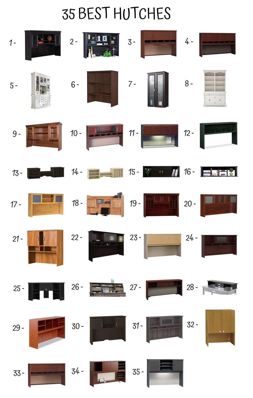 35 Best Hutches