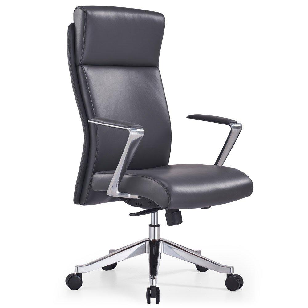 Adjustable Ergonomic Draper Leather Executive Chair