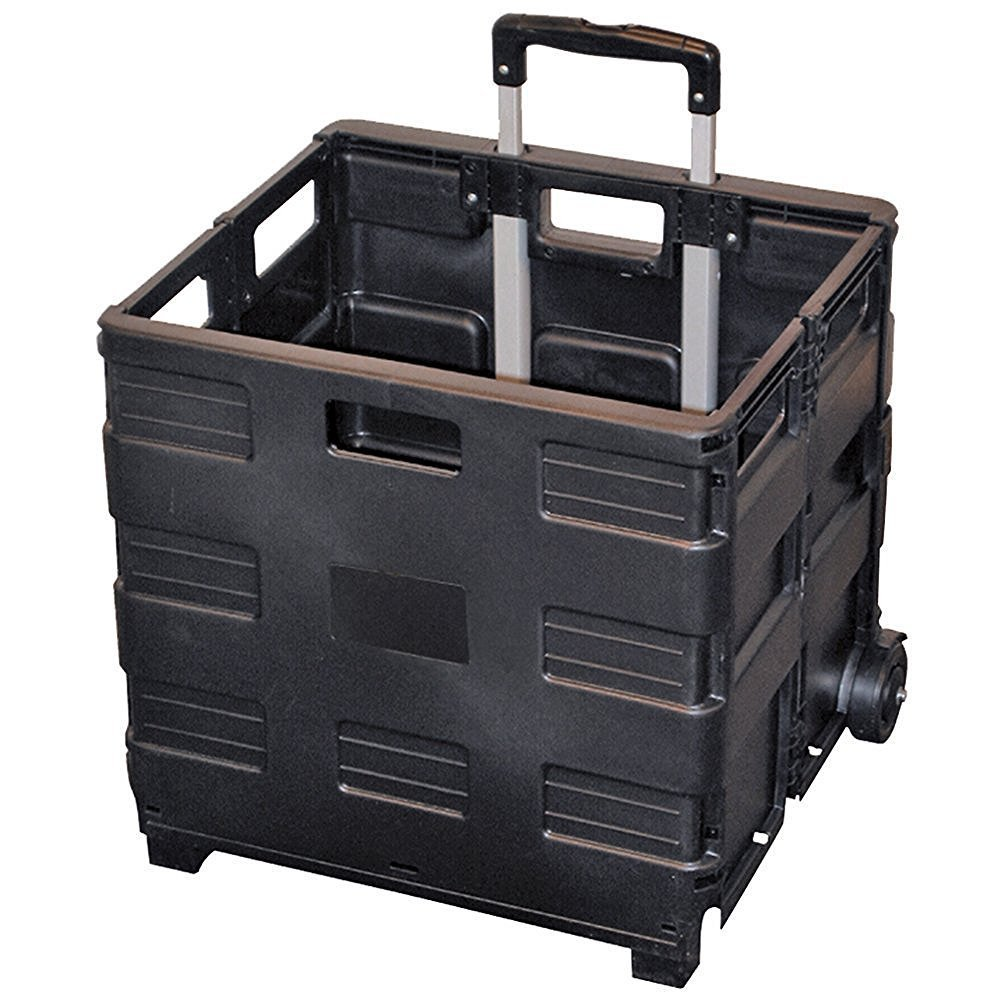 AuWit Load & Roll Cube Cart With Lid