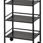 Blue Hills Studio SH3BK Storage Cart
