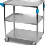 Carlisle UC3031827 Stainless Steel 18 8 Utility Cart