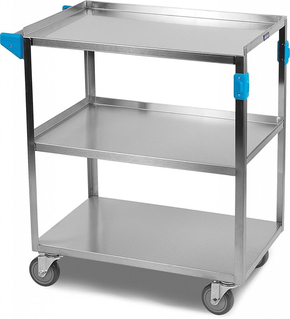 Carlisle UC3031827 Stainless Steel 18 8 Utility Cart