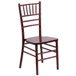 Flash Furniture HERCULES Series Mahogany Wood Chiavari Chair