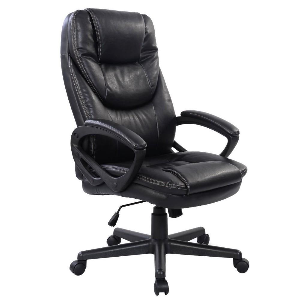 Giantex PU Leather High Back Ergonomic Office Chair