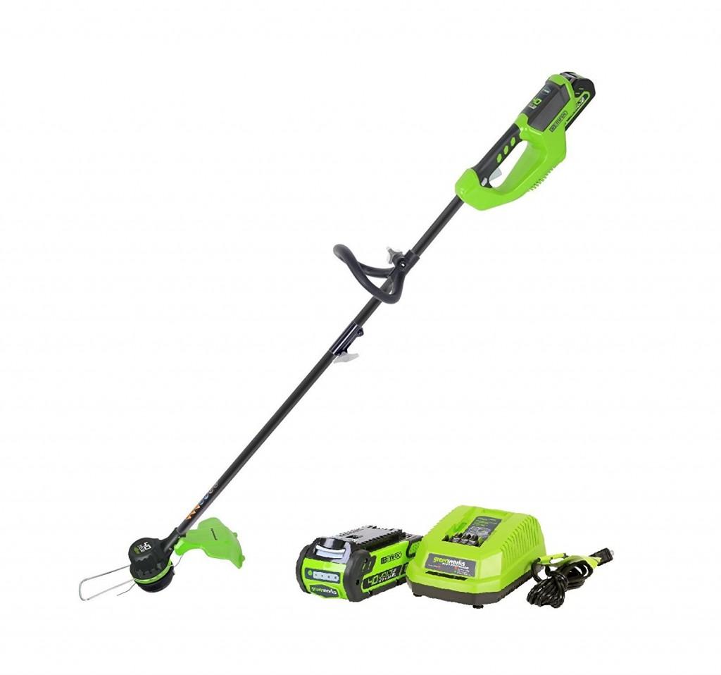GreenWorks ST40L210 G MAX 40V 14 Inch Cordless String Trimmer