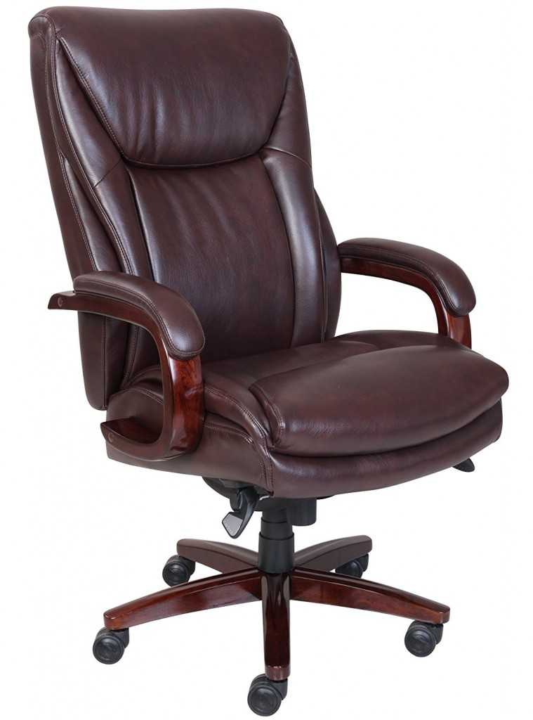 La Z Boy Edmonton Leather Office Chair