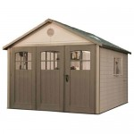 Lifetime 11 Ft. X 21 Ft. Garage Shed