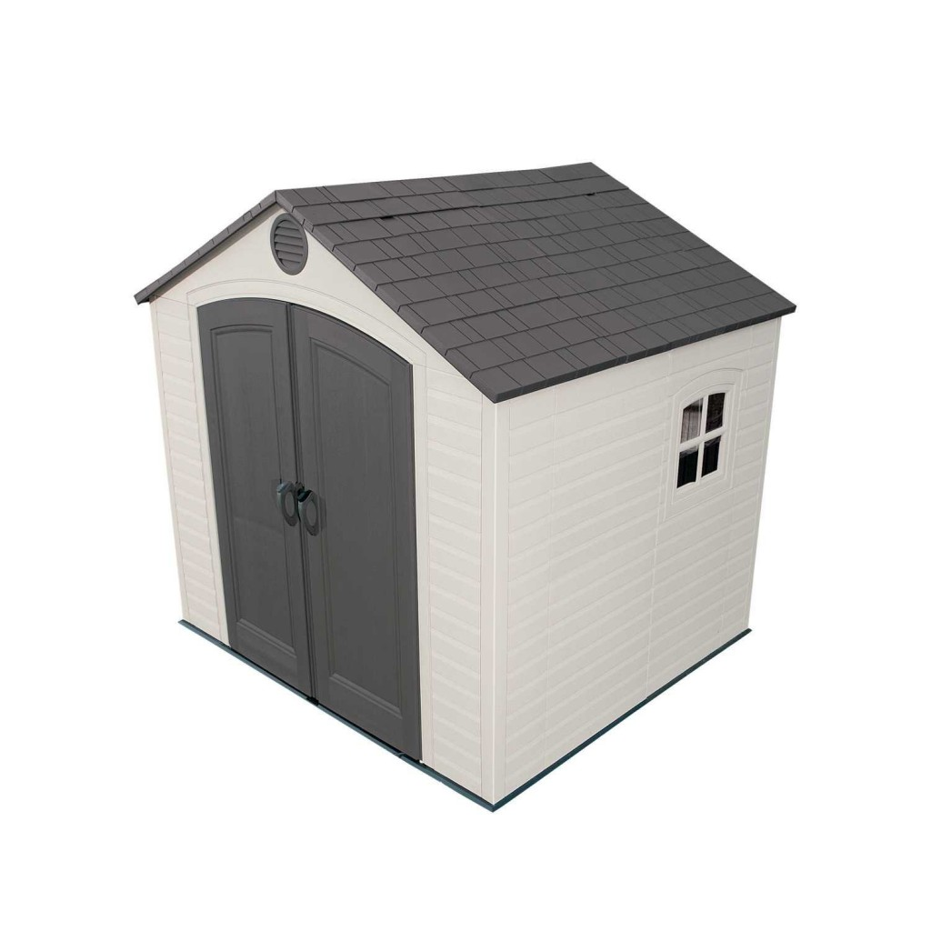 Lifetime 6411 Outdoor Storage Shed With Window