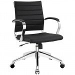 Modway Jive Ribbed Mid Back Executive Office Chair