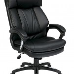 Office Star Oversized Faux Leather Executive Chair