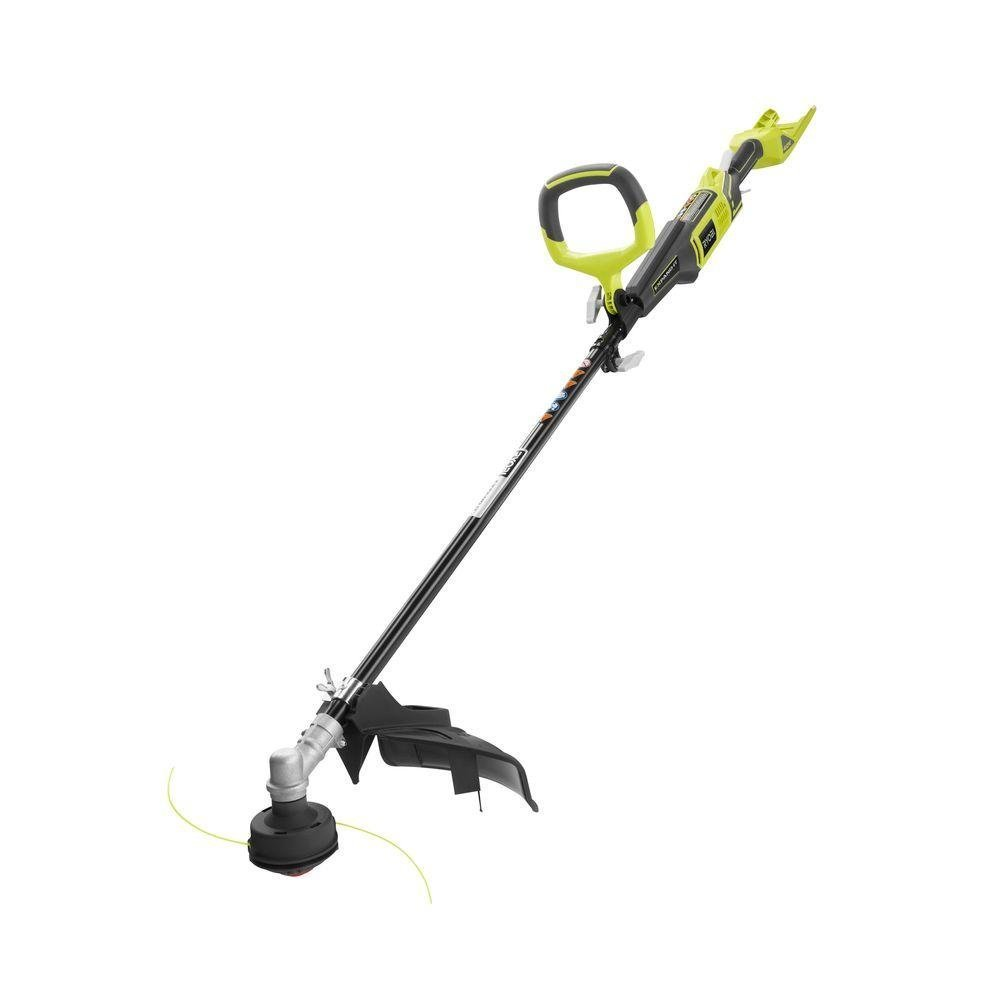 Ryobi RY40202 40 Volt X Lithium Ion Attachment Capable Cordless String Trimmer