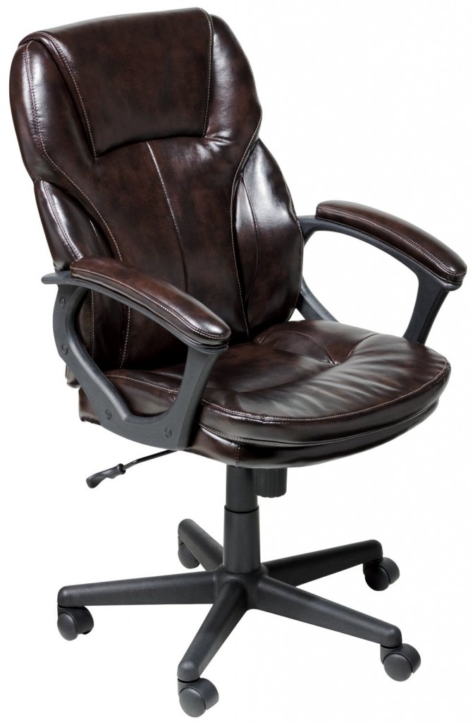 Serta Faux Leather Executive Chair