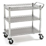Seville Classics Heavy Duty Commercial Grade Utility Cart