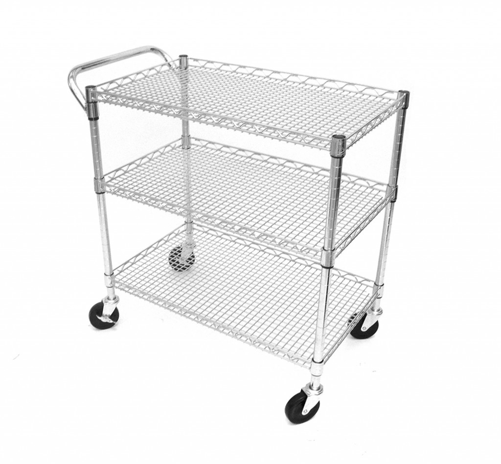 Seville Classics Industrial All Purpose Utility Cart