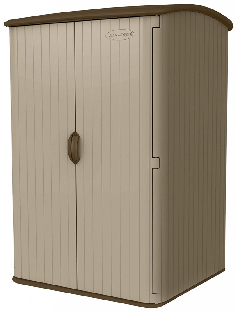 Suncast BMS6500 98 Cubic Foot Vertical Blowmolded Shed