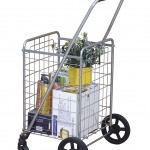 Wellmax WM99024S Portable Folding Shopping Cart