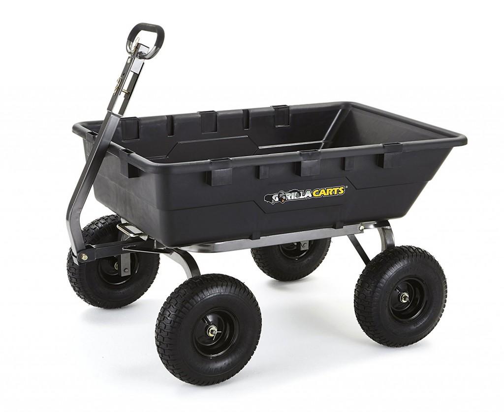 Gorilla Garden Dump Cart
