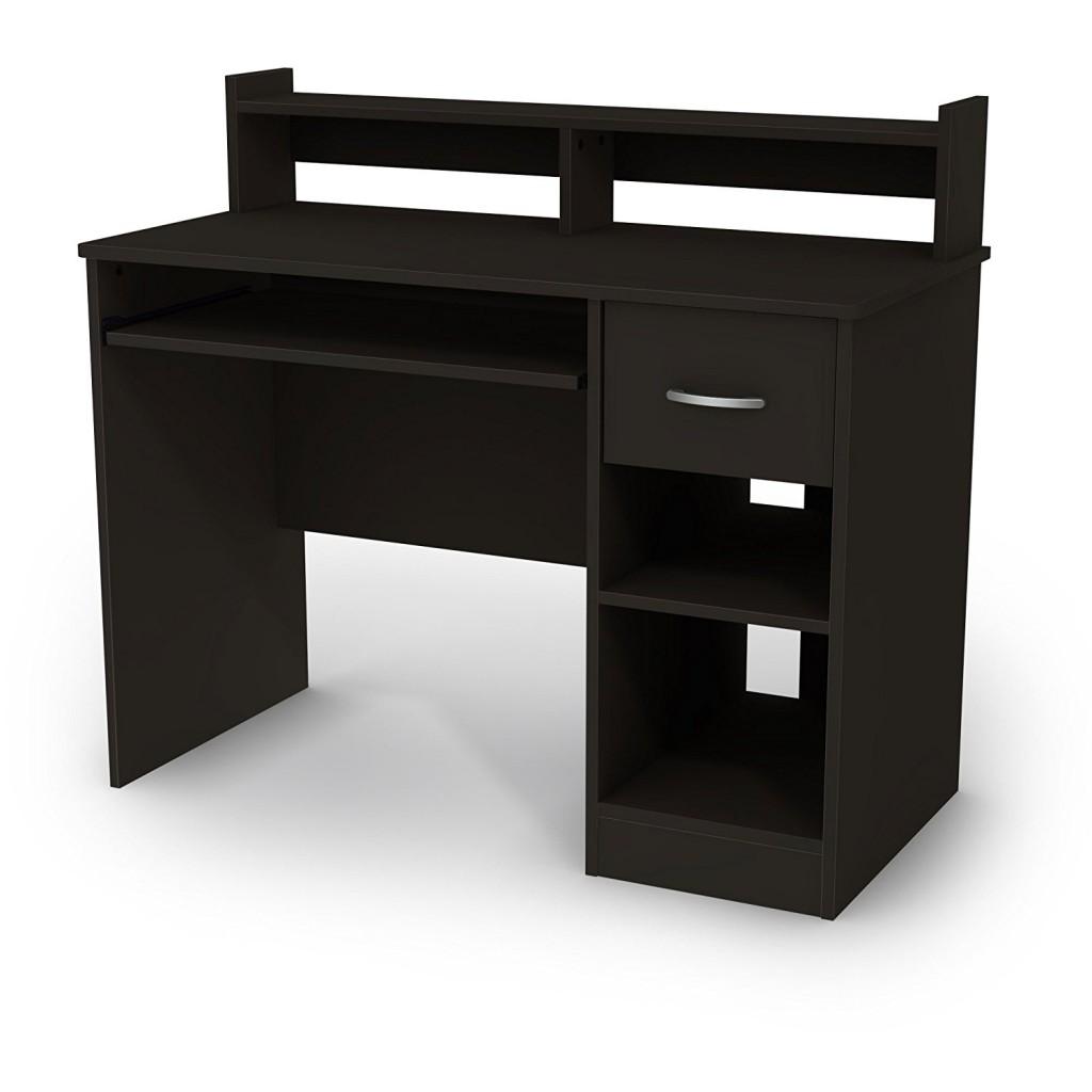 Modern Desk With Hutch