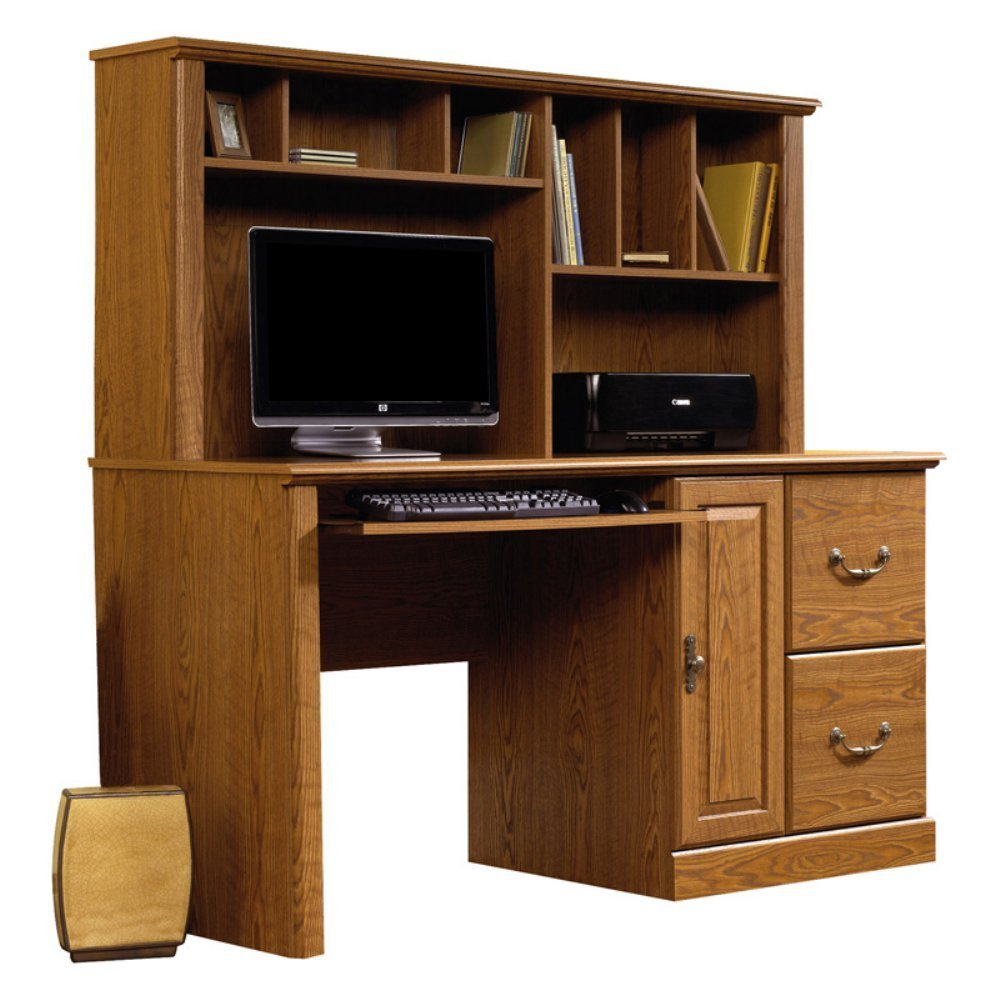 Sauder Computer Desk With Hutch