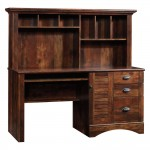 Sauder Desk With Hutch