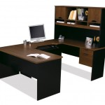 U Shaped Desk With Hutch
