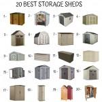 20 Best Storage Sheds