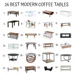 24 Best Modern Coffee Tables