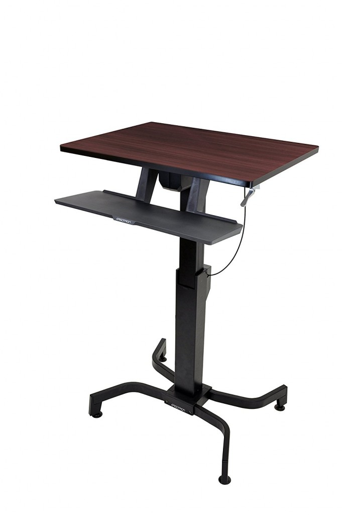 Ergotron 24 280 927 WorkFit PD Sit Stand Desk