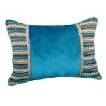 Embroidered Lumbar Pillows